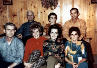 Granddaddy, Mama, Jack, Herby, Sizzy, Marie, And Margaret